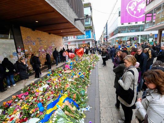 AP SWEDEN TRUCK CRASH I SWE
