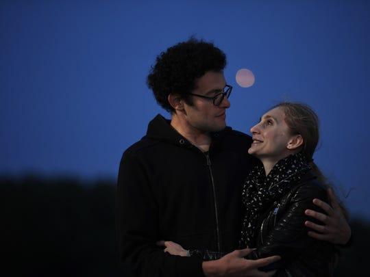 Slava Koza and Alina Dronova in Overpeck County Park