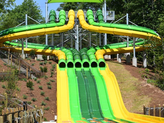 Dollywood Splash County's new TailSpin racer water