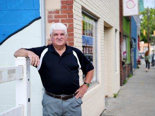 Randy Hyatt is a third-generation West Asheville resident