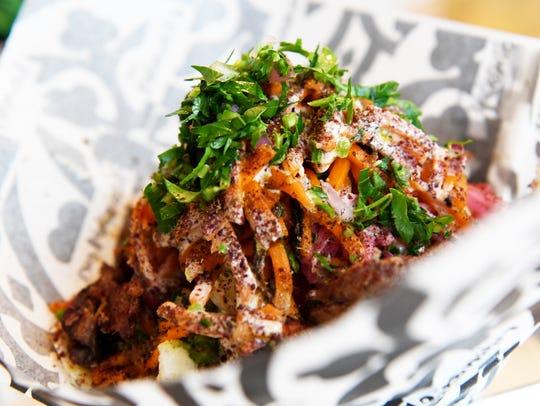 Baba Nahm's lamb shawarma.