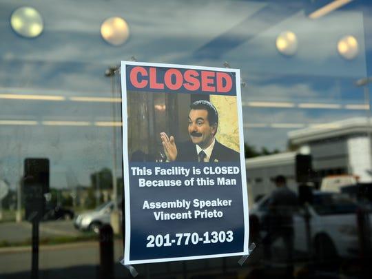 Fliers blaming Assembly Speaker Vincent Prieto were