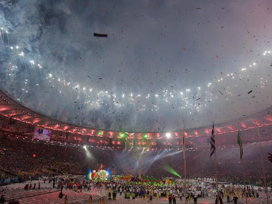 Olympics: Closing Ceremonies