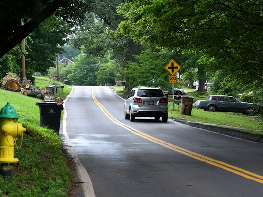 The City of Knoxville is beginning work on $3.75 million in sidewalk improvements on Buffat Mill Road, between Whittle Springs Road and Bridalwood Drive, Friday, Jul. 7, 2017.