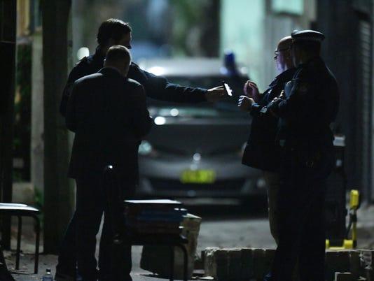 EPA AUSTRALIA SYDNEY TERROR RAIDS CLJ CLJ CRIME AUS NS