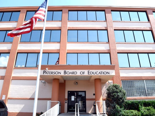 The Paterson Board of Education building.
