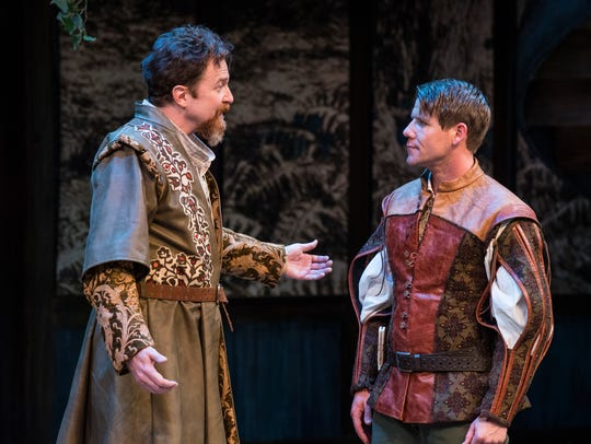 """A scene from the 2017 Shakespeare Festival's """"As You"""