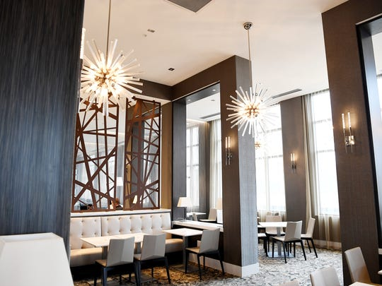 The AC Hotel opened August 11 in downtown Asheville, with a top floor restaurant called Capella.