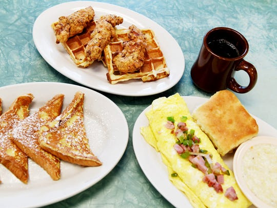 Tastee Diner on Haywood Road in West Asheville offers breakfast, lunch and dinner.