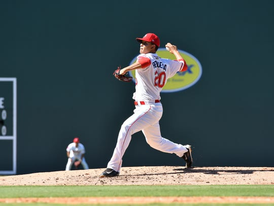 In 31 games, including seven starts, Hildemaro Requena