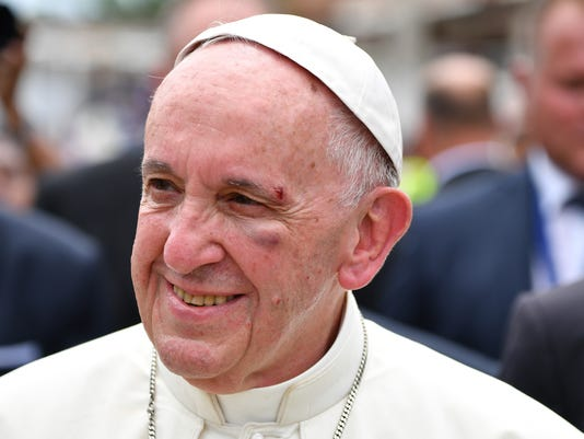 AP COLOMBIA POPE I COL