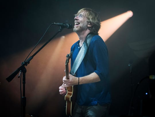 Phish guitarist Trey Anastasio played a nearly two-hour