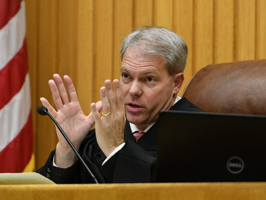Knox County Criminal Court Judge Steven Sword said Thursday, Sep. 21, 2017 he would rule tomorrow on motions about Tyler Enix's then 2-year-old daughter being allowed to testify in his trial starting Monday.