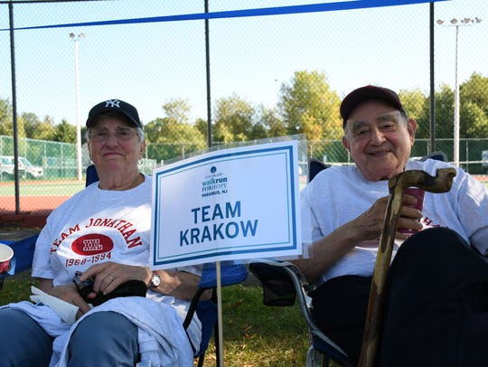 Miriam and Dave Krakow of Teaneck at the CancerCare