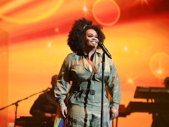 Jill Scott performs at an Atlanta music festival in