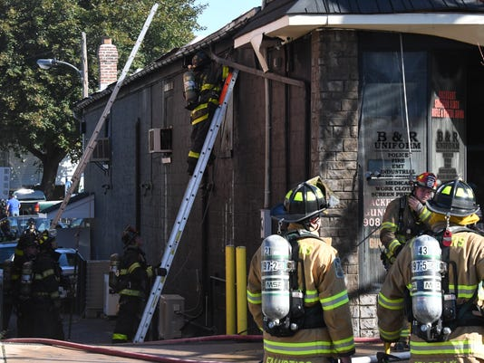 Hackettstown business fire