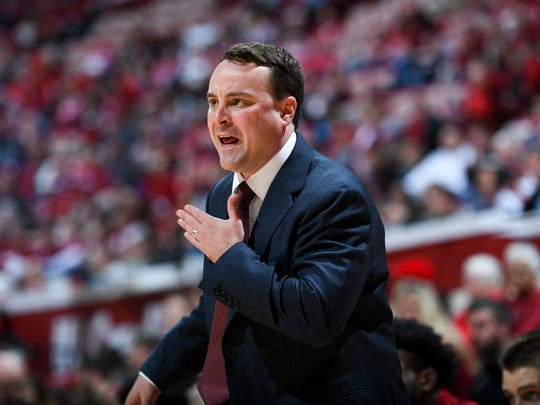 Archie Miller made his Assembly Hall debut in an exhibition