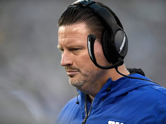 New York Giants coach Ben McAdoo.