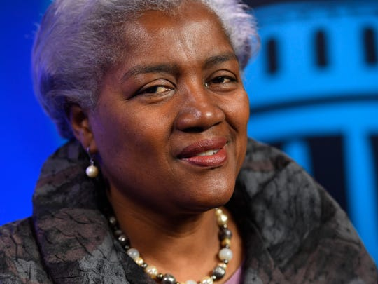 """Donna Brazile speaks with USA TODAY's Capital Download about her new book, """"Hacks"""""""