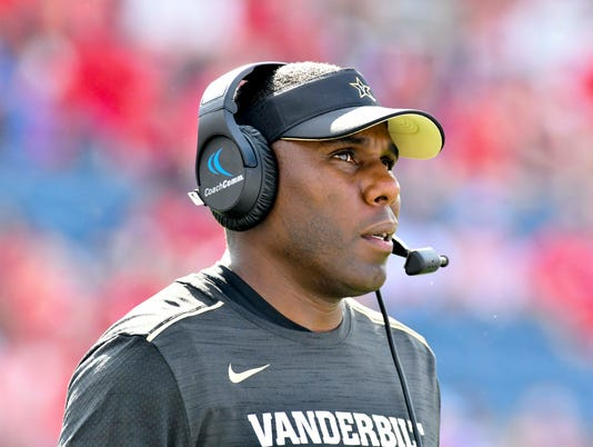 NCAA Football: Vanderbilt at Mississippi