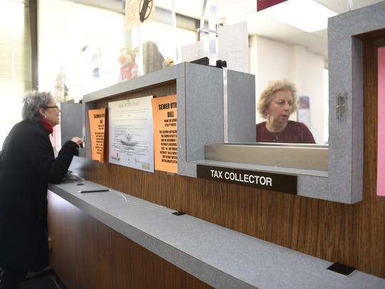 The Montclair tax collectors office, where residents