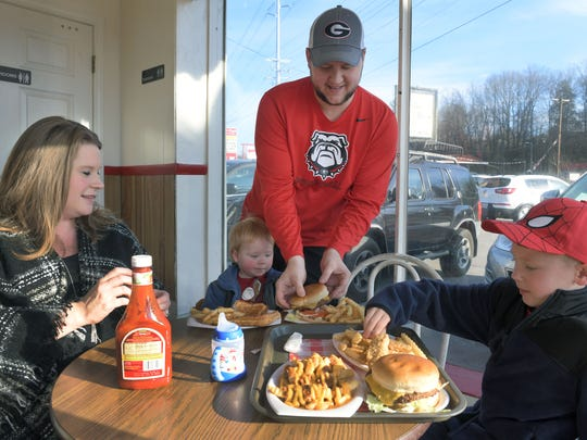 Brad and Vanessa Fowler decided to bring their boys, Hudson and Hayden, to Kay's Ice Cream one last time after learning the restaurant was closing in December. Kay's Ice Cream will reopen the first week of August.