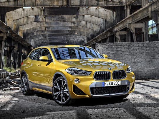 BMW says its new X2 will be a sporty, fast SUV that