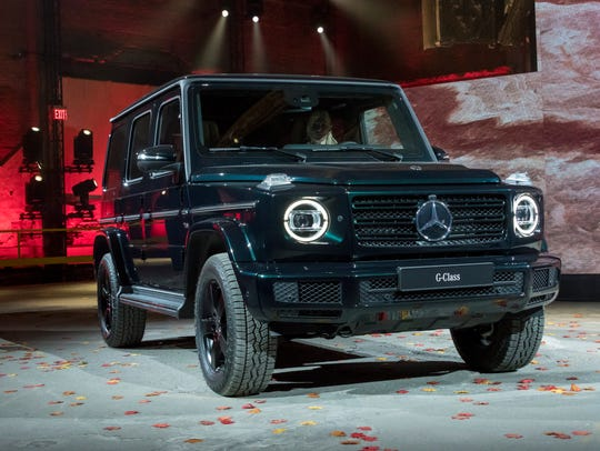 Mercedes Benz announces a refresh of the G-Class SUV.
