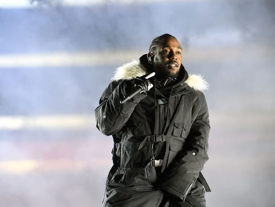Kendrick Lamar is the second most-nominated artist