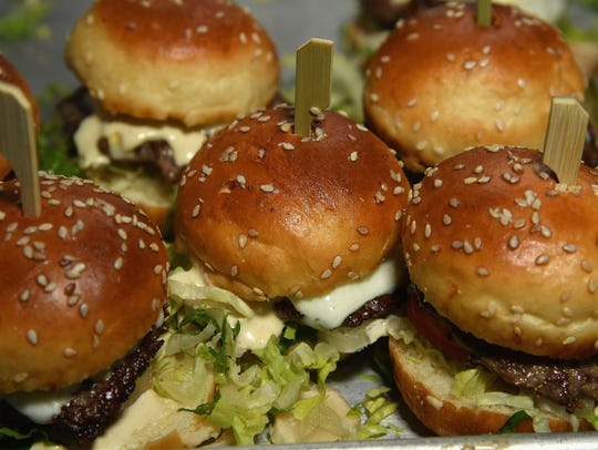 There are burger night specials every day of the week.