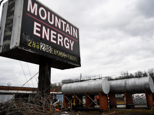 The Asheville Fire Department estimates that 4,000 gallons of petroleum fuel leaked into the French Broad River from a tank at Mountain Energy.