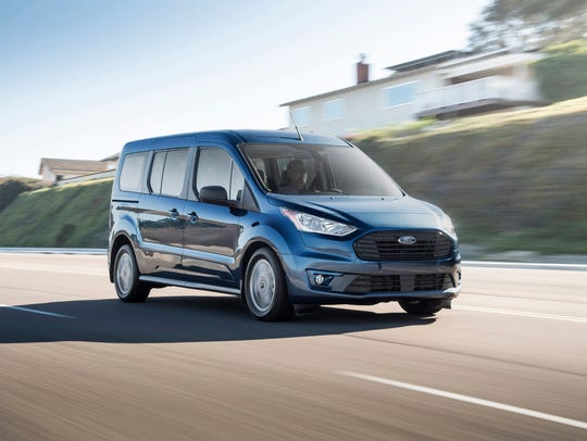 With space for up to seven, 2019 Ford Transit Connect