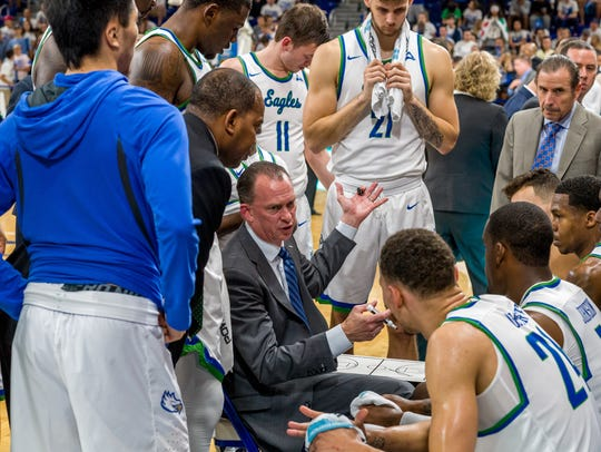Fifth-season coach Joe Dooley has led FGCU to all three