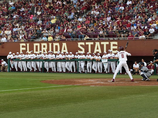 The Seminoles hit 13 out of 35 chances at bat on Friday Night.