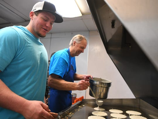 Brad's Food Hut in Cedar City hosted a pancake-breakfast