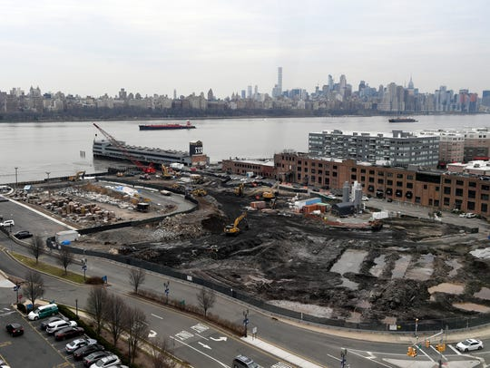 A view of the Quanta superfund site from Irene Stella's