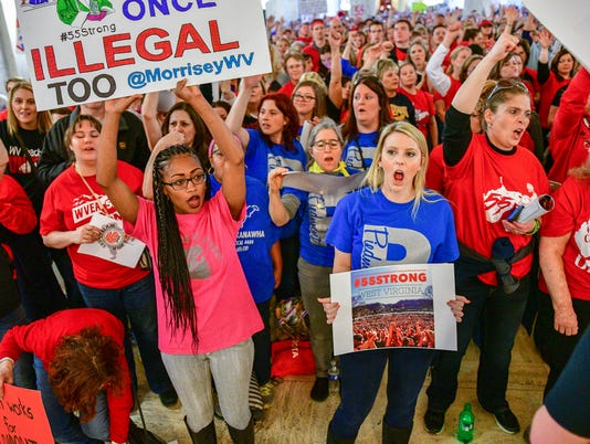 West Virginia Teacher Strike