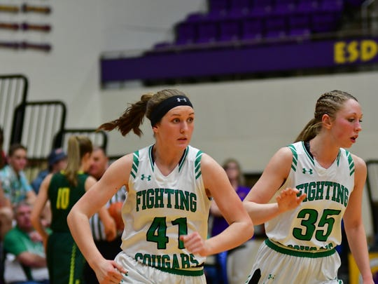 McCook Central/Montrose's Madisen Koepsell (41) and