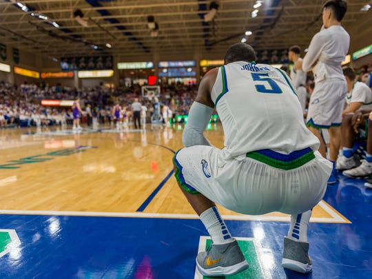 FGCU All-ASUN junior guard Zach Johnson announced Thursday that he was transferring to the University of Miami for his final season. He scored 37 points before fouling out of the conference tournament championship game against Lipscomb.