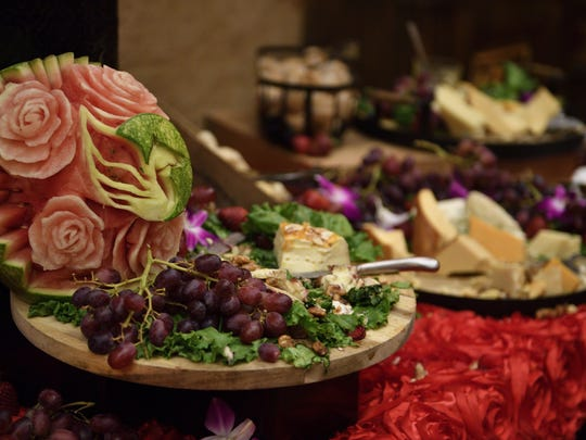 Food at the Kentucky Derby festival.