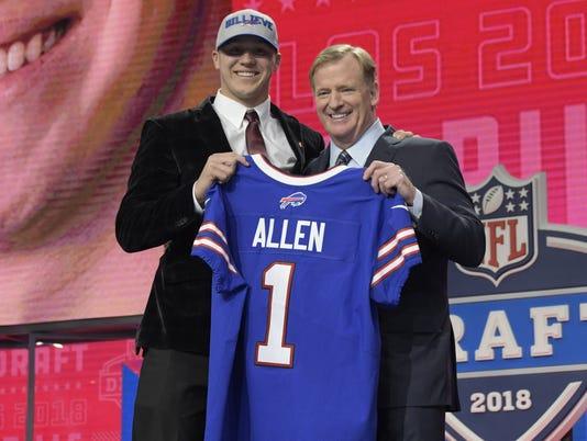 NFL draft, Josh Allen