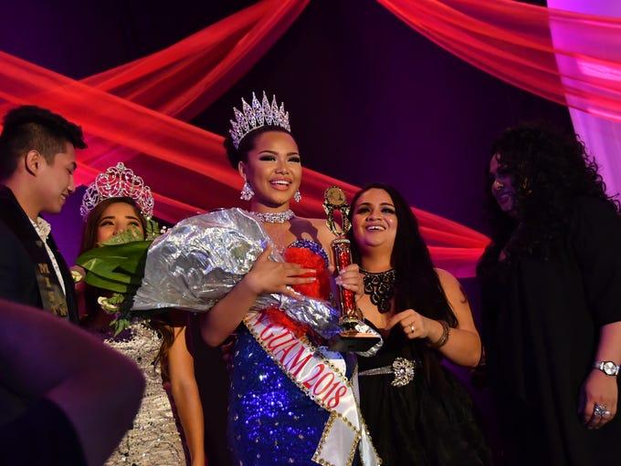 Teofila Borja was crowned Miss Teen Guam 2018 on April