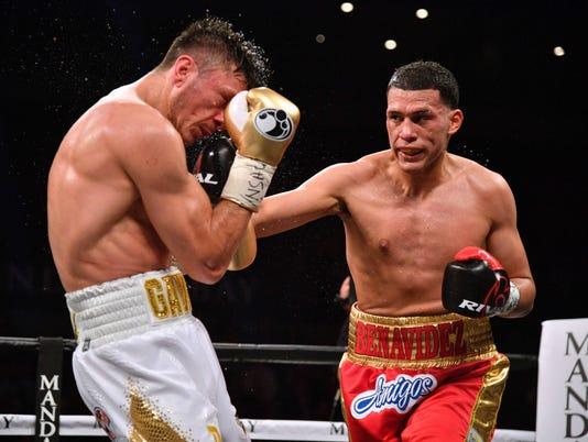 Boxing: Benavidez vs Gavril