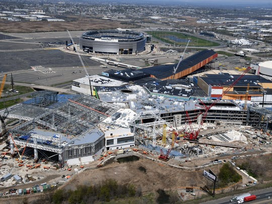 The American Dream Meadowlands site as seen from the