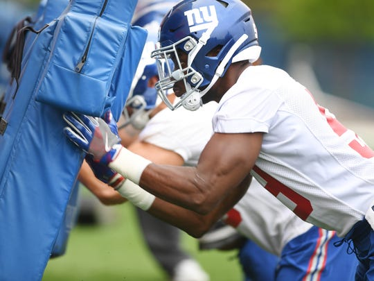 New York Giants Rookie Minicamp in East Rutherford