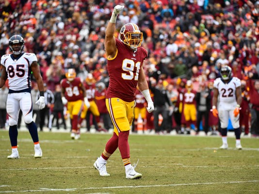 NFL: Denver Broncos at Washington Redskins