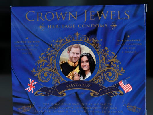 BRITAIN-US-ROYALS-WEDDING-OFFBEAT