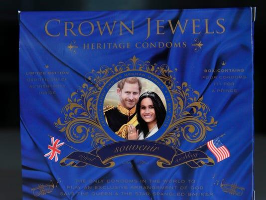 BRITAIN-US-ROYALS-WEDDING-OFFBEAT