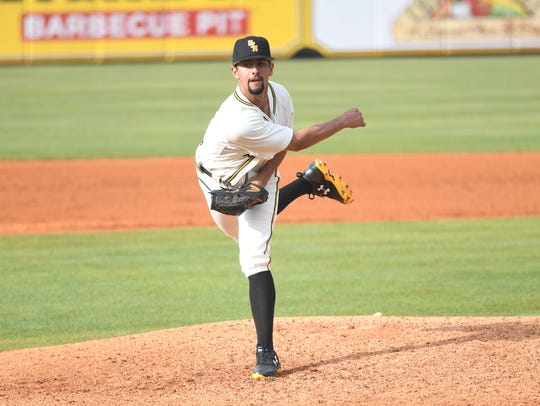 Southern Miss pitcher Nick Sandlin is 8-0 with a 1.25