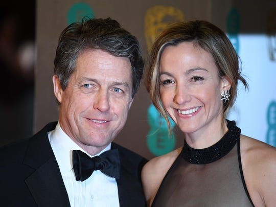 British actor Hugh Grant and Swedish producer Anna Eberstein are married.